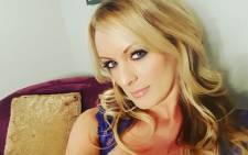 Adult film actress Stephanie Clifford, who uses Stormy Daniels as her professional name. Picture: @thestormydaniels/Instagram.