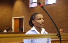 Convicted rapist Sipho' Brickz' Ndlovu in the the Roodepoort Magistrates Court ahead of sentencing proceedings, on 17 October 2017. Picture: Christa Eybers/EWN