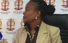 FILE: Public Protector advocate Busisiwe Mkhwebane. Picture: Gia Nicolaides/EWN