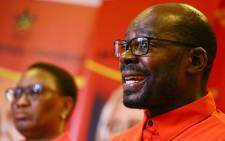 South African Communist Party's Solly Mapaila during a media briefing in Johannesburg on the 17 October 2017. Picture : Sethembiso Zulu/EWN