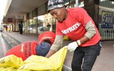 Shoprite staff took to the streets, beaches and anywhere else that needs cleaning up to 'Act For Change' in our communities as part of the Mandela Day centenary celebrations. Picture: @ShopriteSA/Facebook.com