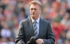 FILE: David Moyes. Picture: AFP.