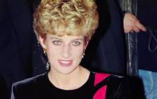 Diana, Princess of Wales, poses on 15 November 1992 at the Quai d'Orsay in Paris during a three-day visit in France. Picture: AFP.