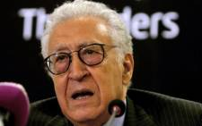 FILE:Former envoy Lakhdar Brahimi said Syria is descending into a Somalia-styled failed state run by warlords. Picture: AFP.