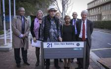 The University of Cape Town will this evening officially rename the New Science Lecture Theatre in honour of the late Chris Hani. Picture: Cindy Archillies/EWN