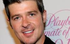 Robin Thicke. Picture: AFP.