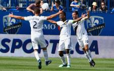 LA Galaxy were still able to eke out a 1-0 win over Montreal Impact. Picture:  Twitter @LAGalaxy ‏.