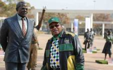 President Jacob Zuma went on a walkabout at the ANC national policy conference at Nasrec on 3 July 2017. Picture: Christa Eybers/EWN.