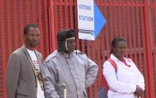 Denver residents in the Johannesburg inner city have welcomed the peaceful registration process in their area, following disruptions in the previous voter registration weekend. Picture: Vumani Mkhize/EWN.