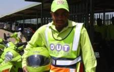 Talk Radio 702 Outsurance pointsman Michael Modiba was killed on the M1 Highway on Sunday 26 July. PIcture: Supplied