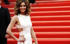 British singer and actress Cheryl Cole. Picture: AFP.