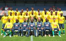 FILE: Bafana Bafana team photo. Picture: Safa.