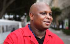 Floyd Shivambu addresses the media after the ANC announce that they are recalling president Jacob Zuma. Both the Democratic Alliance and the Economic Freedom Fighters have welcomed President Jacob Zuma's recall.  Picture: Bertram Malgas