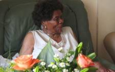 Anti-apartheid activist Albertinah Sisulu gets a visit from ANC Women's League members a day after her 90th birthday on the 21st of October 2008 - 22 October 2008