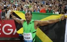 FILE: Jamaican sprinter Yohan Blake. Picture: AFP