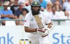 South African batsman Hashim Amla in action during the second Test against England at Trent Bridge on 14 July 2017. Picture: @OfficialCSA