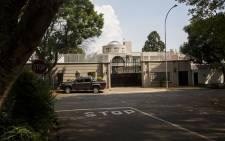 FILE: The compound belonging to the Gupta family in Saxonwold. Picture: Reinart Toerien/EWN.