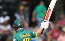South Africa's AB de Villiers. Picture: Twitter/@OfficialCSA.