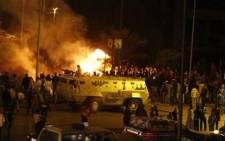 Clashes in Egypt. Picture: AFP.