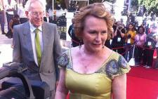 Western Cape Premier Helen Zille arrives in Parliament for the State of the Nation Address on Thursday. Picture: Siyabonga Sesant/EWN.