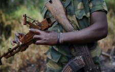 Rwanda rebels in the Democratic Republic of Congo. Picture: AFP.