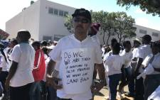 Scores of former District Six residents joined hundreds of other demonstrators in a march for land, housing and school safety held in Cape Town on Wednesday 21 March 2018. Picture: Lauren Isaacs/EWN