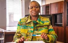 Gauteng Health MEC Gwen Ramokgopa. Picture: Kgothatso Mogale/EWN.