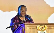FILE: Minister of Science and Technology Naledi Pandor. Picture: GCIS.