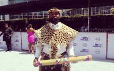 South African artist Sjava at the 2018 BET Awards. Picture: @BET_Africa/Twitter