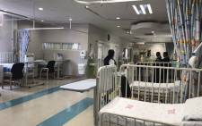 FILE: The newly refurbished facilities at the Tshwane District Hospital include the pediatric, postnatal and maternity wards. Picture: Masego Rahlaga/EWN