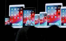 Apple software chief Craig Federighi talks about the iOS 12 software upgrade. Picture: AFP