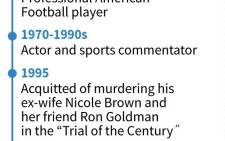 Profile of former professional American football player and actor O.J. Simpson who could go free after a parole board hearing on Thursday, after serving nearly nine years in jail.