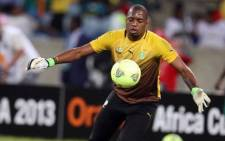 Itumeleng Khune has joined England-based Triple S Sports Agency. Picture: Facebook.com.