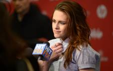 """Actress Kristen Stewart attends the """"Camp X-Ray"""" premiere at Eccles Center Theatre during the 2014 Sundance Film Festival on January 17, 2014 in Park City, Utah. Picture: AFP"""