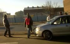 Striking Numsa members in Elandsfontein, Kempton Park on 7 July 2011. Picture: Edwin/iWitness