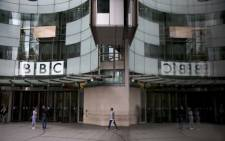 Britain's public broadcaster BBC came under fire for its gender pay imbalance after it was forced to reveal how much it pays its top-earning talent. Picture: AFP.