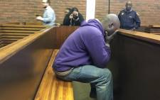 The father who is accused of shooting his son at a school in Ennerdale appears in the Lenasia Magistrate's Court on 7 June 2018. Picture: Ihsaan Haffejee/EWN