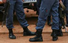 South African Police Service officers on duty. Picture: Taurai Maduna/Eyewitness News