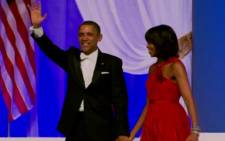 FILE: Former US President Barack Obama and his wife Michelle Obama. Picture: AFP.