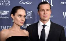 FILE: Angelina Jolie and Brad Pitt in November 2015. Picture: AFP.