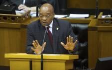Zuma in parliament