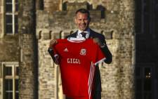 Newly appointed football manager of Wales, Ryan Giggs poses for photographers at the Hensol Castle hotel, south Wales on 15 January 2018. Picture: AFP