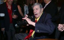 US comedy legend Jerry Lewis. Picture: AFP