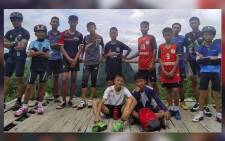 A miraculous rescue: All 12 boys and their coach have been rescued from a flooded Thai cave. Picture: CNN screengrab