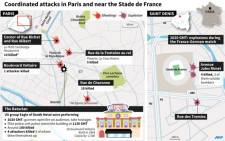 Detalis of the attacks, with more information on the Bataclan attack. All toll figures provisional.