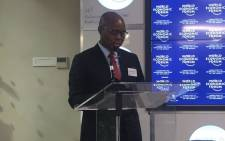 Deputy finance minister Sfiso Buthelezi. Picture: Clement Manyathela/EWN.
