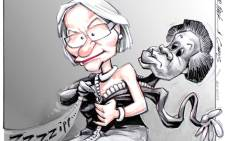Agang DA cartoon