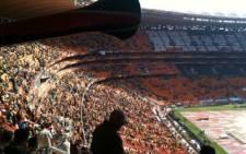 Spectators in a soccer stadium. Picture:EWN
