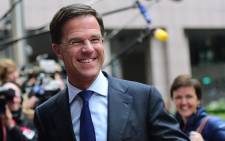 FILE: Dutch Prime Minister Mark Rutte. Picture: AFP