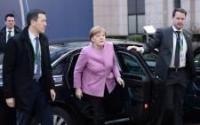 FILE: German Chancellor Angela Merkel. Picture: AFP